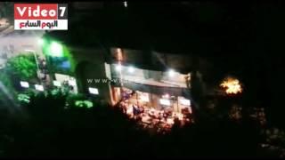 بالفيديو.. مقاهى مخالفة خلف سور نادى الترسانة تسبب الإزعاج للأهالى