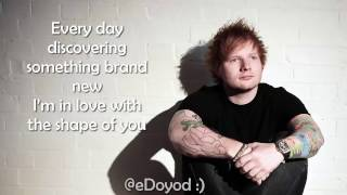 Ed Sheeran - (lyrics) Shape Of You