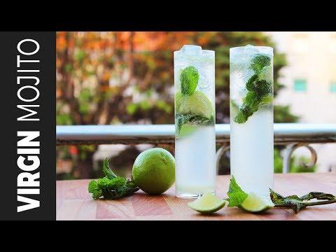 Xxx Mp4 ভার্জিন মোহিতো Mojito Refreshing Summer Mocktail Summer Drinks Recipe 3gp Sex