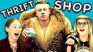 TEENS REACT TO THRIFT SHOP (Macklemore & Ryan Lewis)