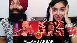 Indian Reaction on Ahmed Jehanzeb & Shafqat Amanat, Allahu Akbar