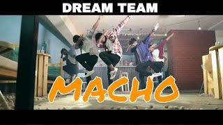MERSAL - MACHO ( dance cover ) | Choreography by KARTHY | DREAMTEAM | VIJAY | A.R.RAHMAN