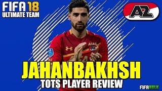 FIFA 18 TOTS JAHANBAKHSH PLAYER REVIEW | TOTS ROTW JAHANBAKHSH 90 REVIEW | AZ