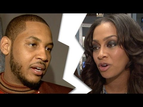Carmelo Anthony Gets a Stripper PREGNANT Splits From Wife Lala