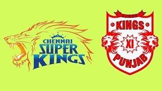 Chennai Super Kings vs Kings XI Punjab IPL 2015 Match