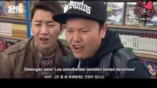 SNL Korea - GTA Día Blanco [Sub español]