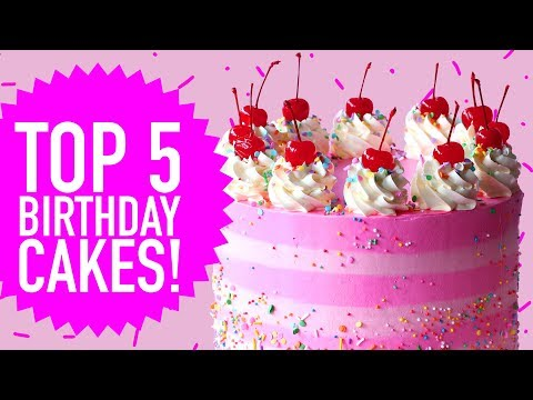 TOP 5 BIRTHDAY CAKES The Scran Line