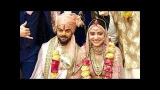 Live विराट-अनुष्का बन गए दूल्हा-दुल्हन शादी के बंधन में बंधे विराट कोहली और अनुष्का शर्मा