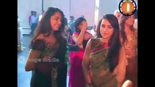 Anushka Trisha and Rana at Ragavendra Rao Son Marriage Function