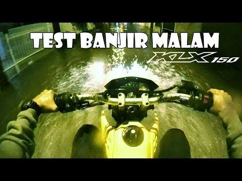 Test Ride KLX 150 Dengan Benar   Banjir Jakarta   Motovlog Indonesia
