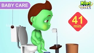 Learn BABY CARE | Fun and Good Habits with BABY HULK For Children