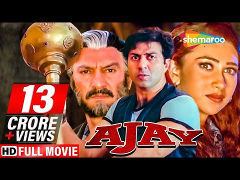 Xxx Mp4 Ajay HD Hindi Full Movie Sunny Deol Karisma Kapoor Superhit Hindi Movie 3gp Sex