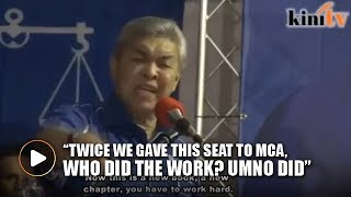 'You have to work hard' - Zahid tells MCA to buck up
