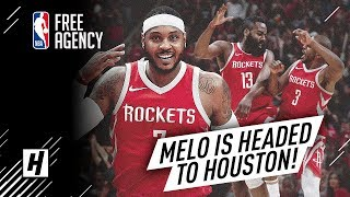 BREAKING: Carmelo Anthony IS HEADED to Houston | Full Highlights vs Rockets from 2017-18 NBA Season