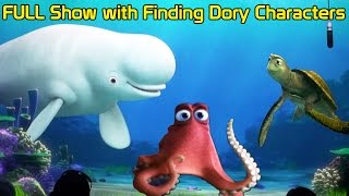 Finding Dory Characters Join Turtle Talk with Crush FULL Epcot Show - Destiny, Bailey, Dory and Hank