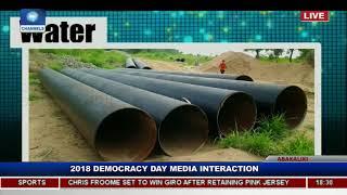 Ebonyi State Governor Holds Democracy Day Executive Media Chat Pt.3