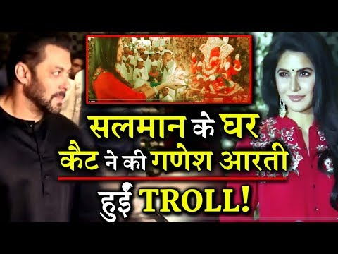 Xxx Mp4 Katrina Kaif Does The Ganesha Aarti All The Wrong Way At Salman Khan Residence Gets Trolled 3gp Sex