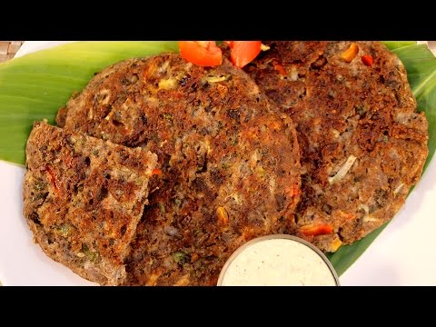 Falahari Uttapam Recipe In Hindi By Sonia Goyal - फलाहारी उत्तपम रेसिपी @ jaipurthepinkcity.com