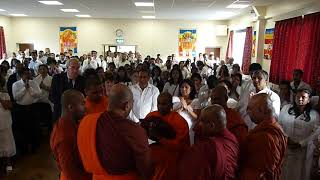 Leicester Buddhist Vihara Rainy retreat programme Cheewara Poojawa 2011