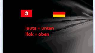 Deutsch Tunesisch Übersetzung 'Für Anfänger'