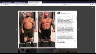 Eddie Hall►Fitnessyoutuber+MANIPULIERT ?!? Powerlifting , Strongman , Bodybuilding , KRAFTSPORT !