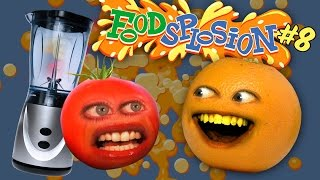 Tomato vs Blender [Annoying Orange Foodsplosion #8]