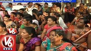 Transgenders made a Swabiman Mahasabha at Indhira park, Hyderabad