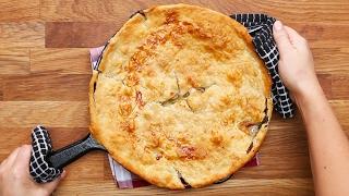 One-Skillet Chicken Pot Pie