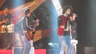 Kyon from Barfi performed live by Papon and The East India Company at Udaipur world music fest 2016.