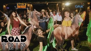 Road Trip: It's a rodeo night with Klea, Ayra, and Arra!