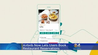 Airbnb Now Lets You Book A Table