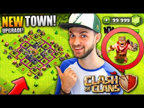 MY NEW TOWN HALL NEW HERO Clash Of Clans