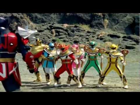Leambow se Transforma en El Guerrero Lobo y destruye a Gekkor Audio Latino Full HD 1080P