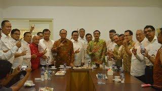Deklarasi Dukungan Jokowi-Ma'ruf Amin Oleh 10 Kepala Daerah Sumbar