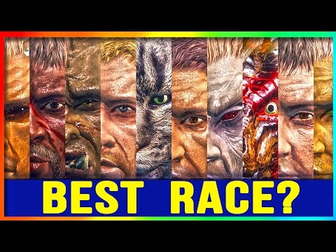 Xxx Mp4 Skyrim Remastered WHAT RACE To PLAY Top 10 BEST RACES Special Edition Character Build Guide 3gp Sex