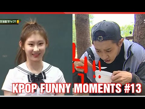 KPOP FUNNY MOMENTS PART 13 TRY TO NOT LAUGH CHALLENGE