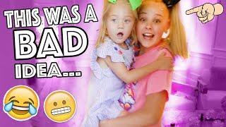 BABYSITTING EVERLEIGH!!...**HILARIOUS**