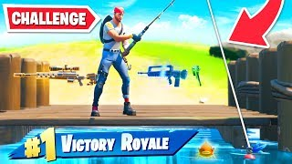 Can I WIN in Fortnite Chapter 2 by FISHING ONLY...?