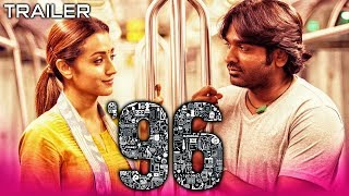 96 (2019) Official Hindi Dubbed Trailer | Vijay Sethupathi, Trisha Krishnan