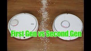 Xiaomi First vs Second Gen RoboRock Robo Vacuum Comparison and Review