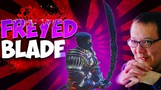 Dark Souls 3 DLC Weapons: Frayed Blade PvP On A BLEED & DEX Build...Is It Better? (The Ringed City)