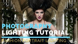 Portrait Photography Tutorial For Beginners | Fashion Portrait Lighting Mola Setti Beauty Dish