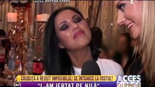 Daniela Crudu l-a iertat pe Mihai Costea