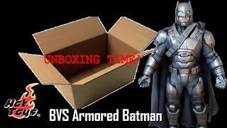 UNBOXING TIME! Hot Toys BVS Armored Batman