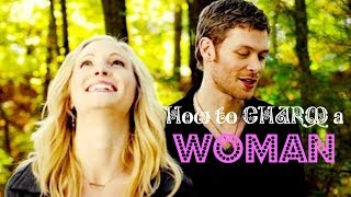 How to Charm WOMAN🙆💘 by Klaus Mikaelson ❣ Klaroline Quotes P1
