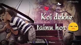 Teri Kami || Akhil 💜 Romantic status 💕 Whatsapp Lyrics Status