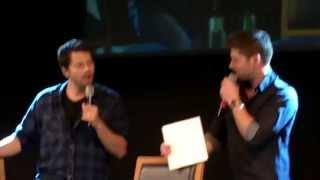 JIBCON 2013 - Jensen & Misha Sunday Panel & Closing Ceremony