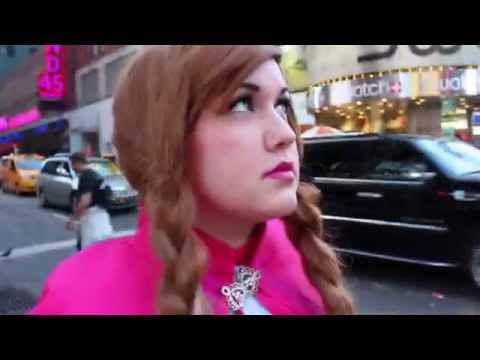 Princess Anna Gets Lost in New York City