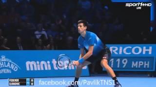 Roger Federer Vs Novak Djokovic Atp World Tour Final 2015 ( Final ) HD