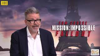 """""""That is CRAZY!"""" - Christopher McQuarrie on the best Mission: Impossible stunt"""
